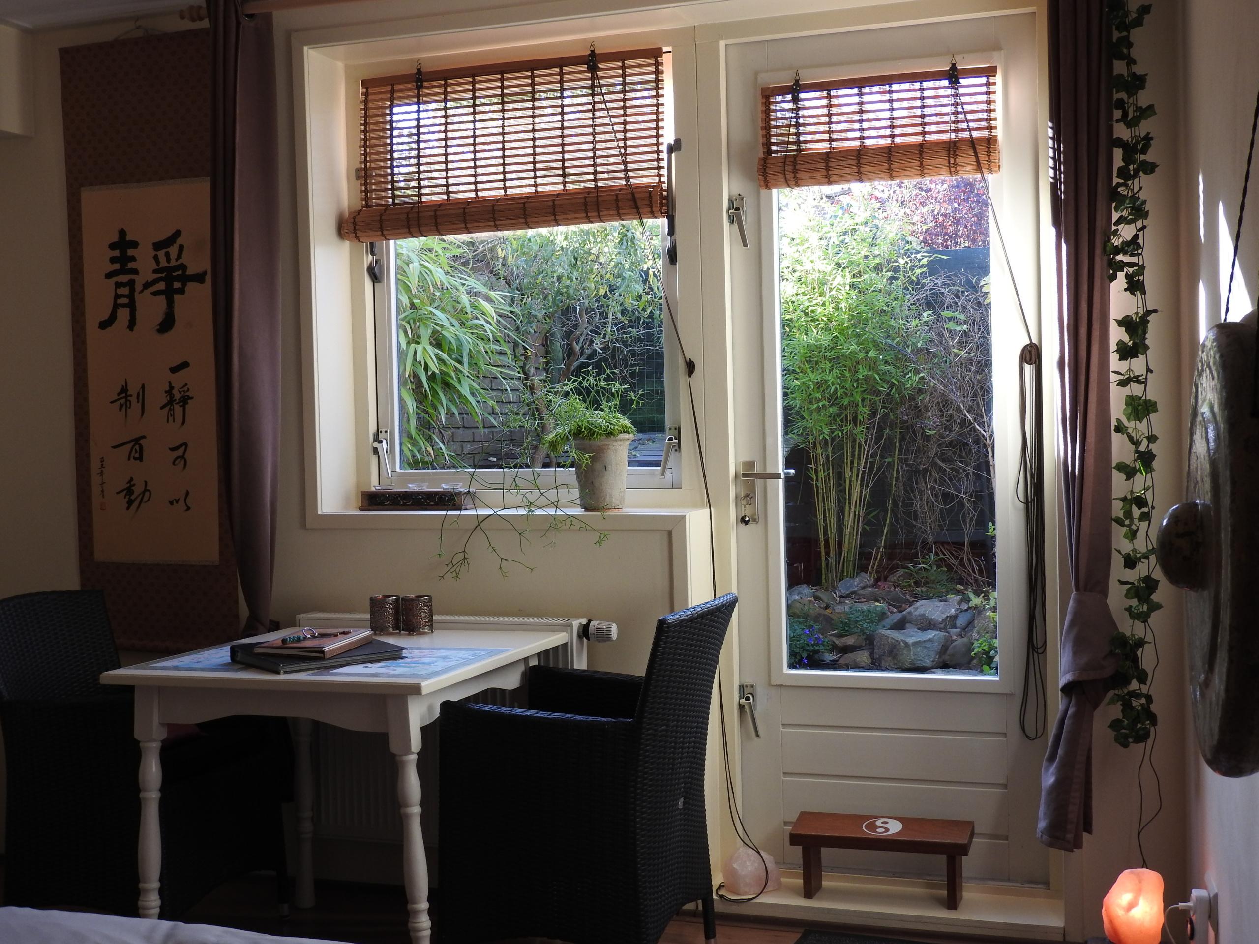 Gezellige studio met eigen tuin in het pittoreske Oosterend