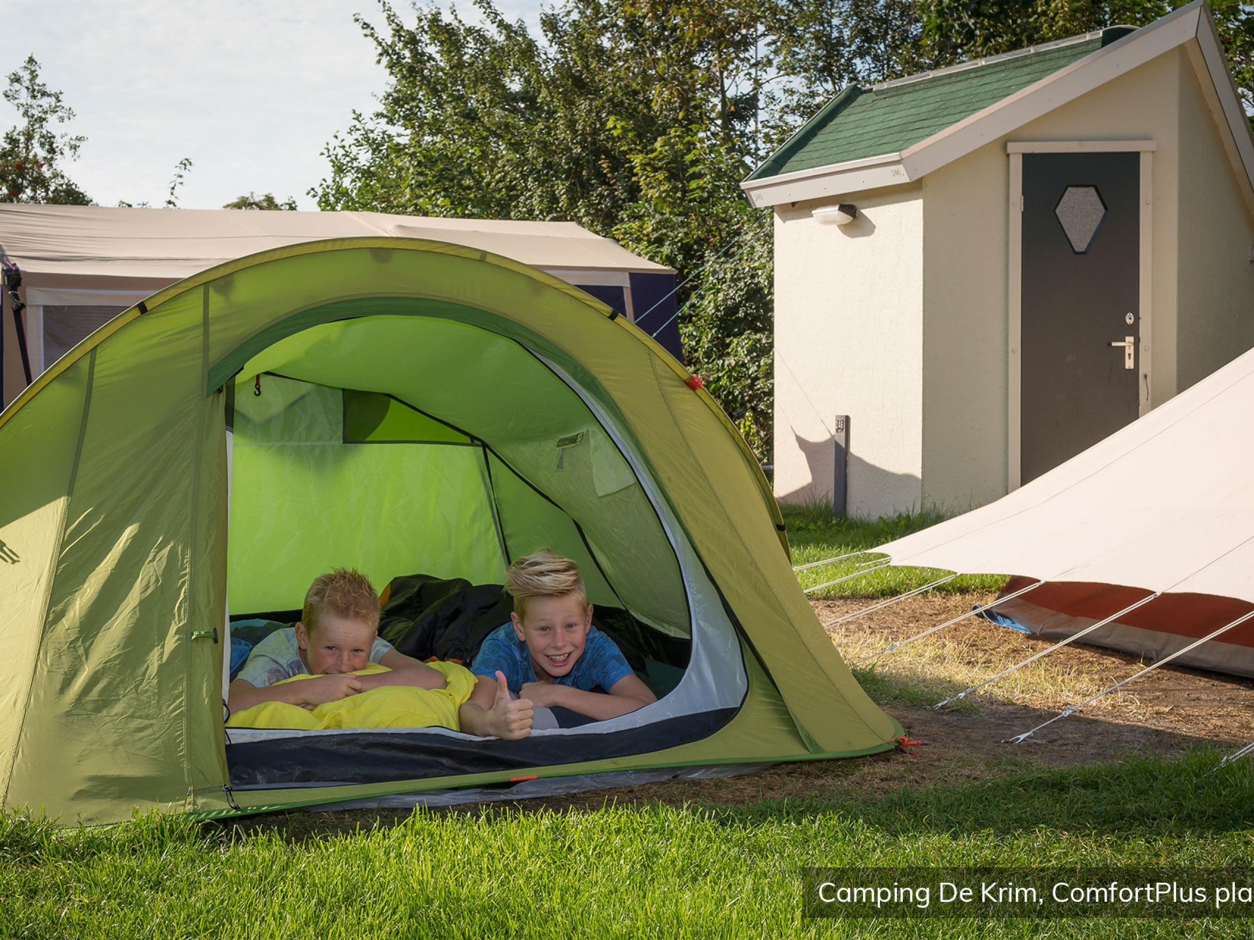 Luxe kamperen op veelzijdig park vlakbij het strand en De Cocksdorp