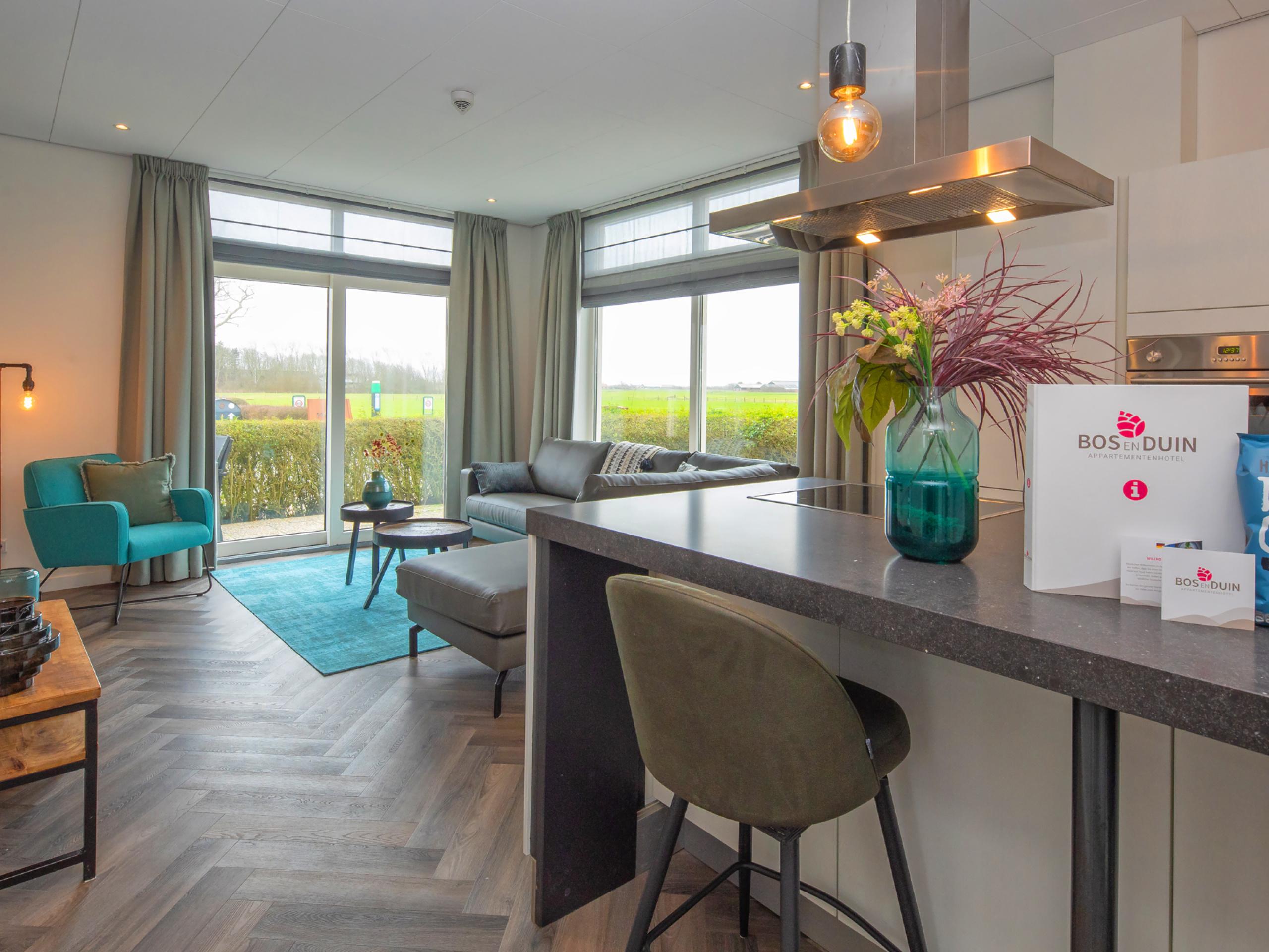 Appartement in kleinschalig complex tussen strand en Den Burg