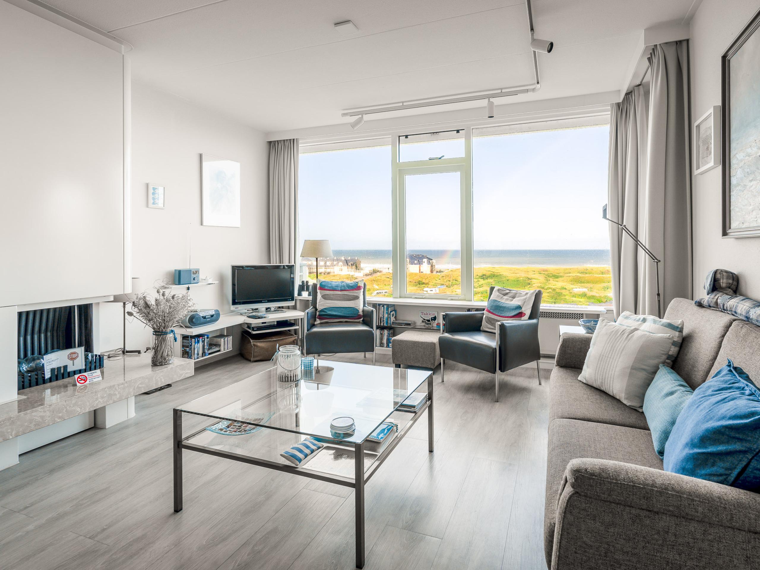 Huiselijk ingericht appartement nabij De Koog met zeezicht