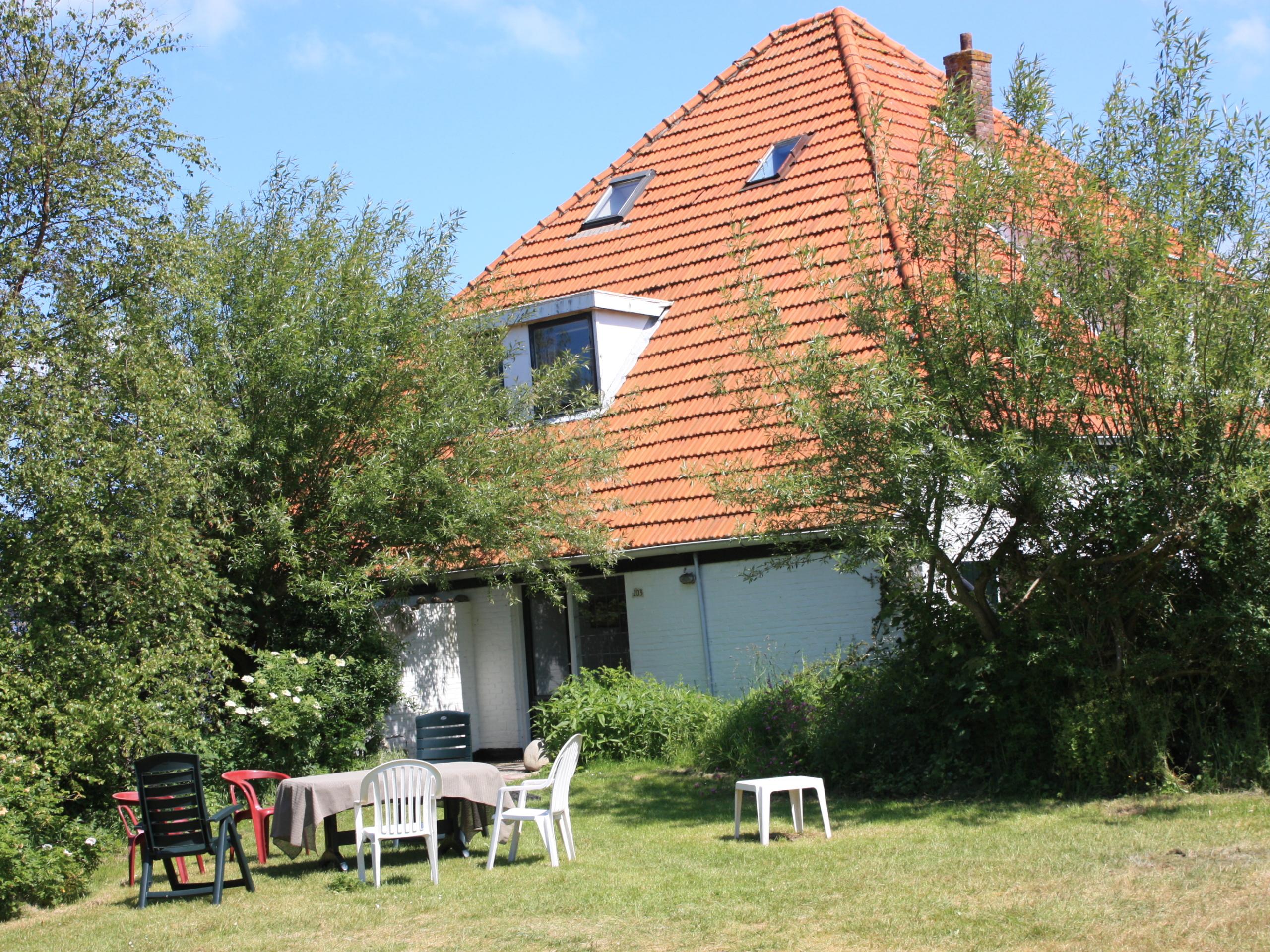 Sfeervol ruim appartement in Eierland met De Slufter in je achtertuin