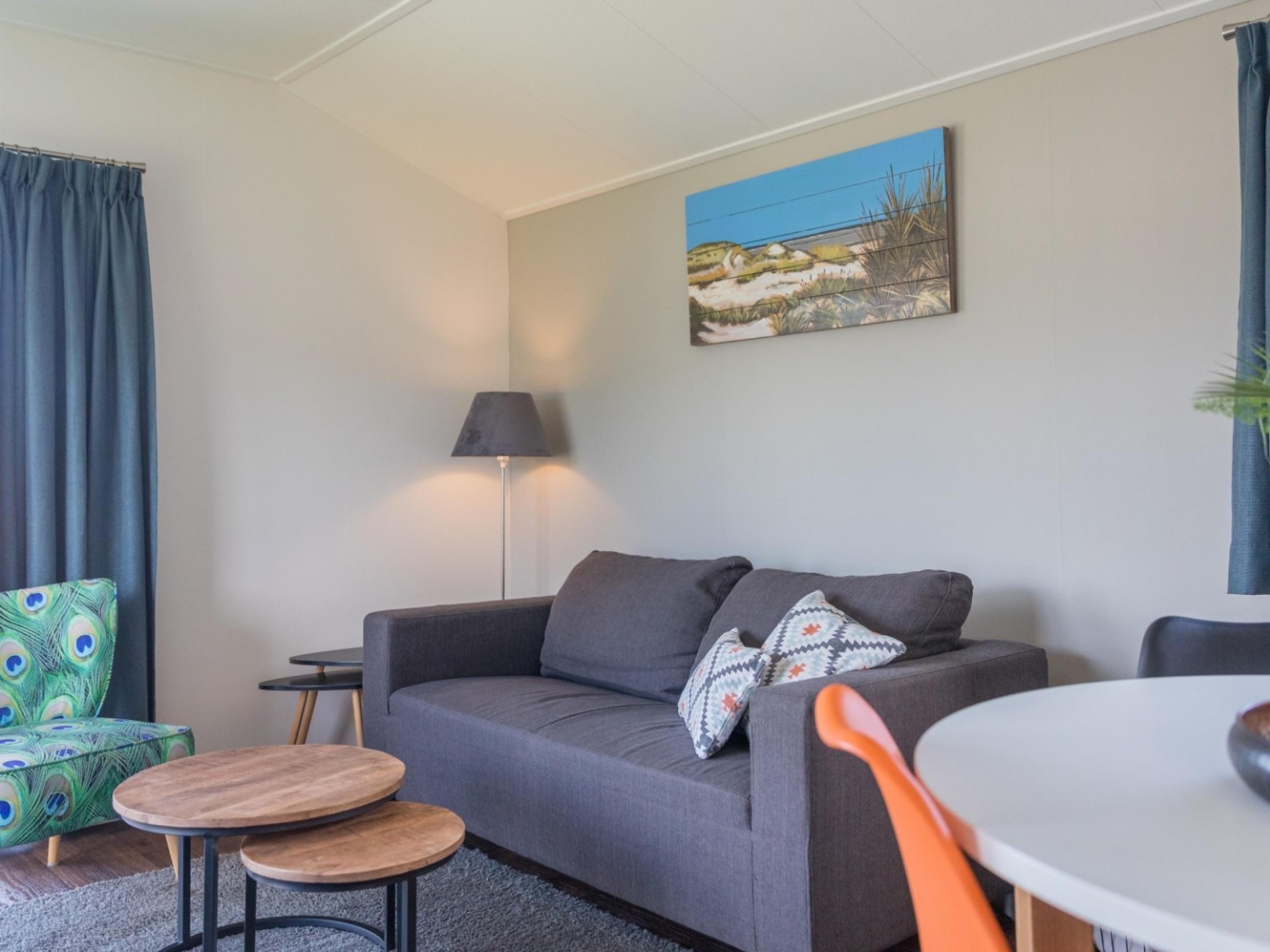 Komfortables Mobilheim mit viel Privatsphäre nah am Zentrum von De Koog