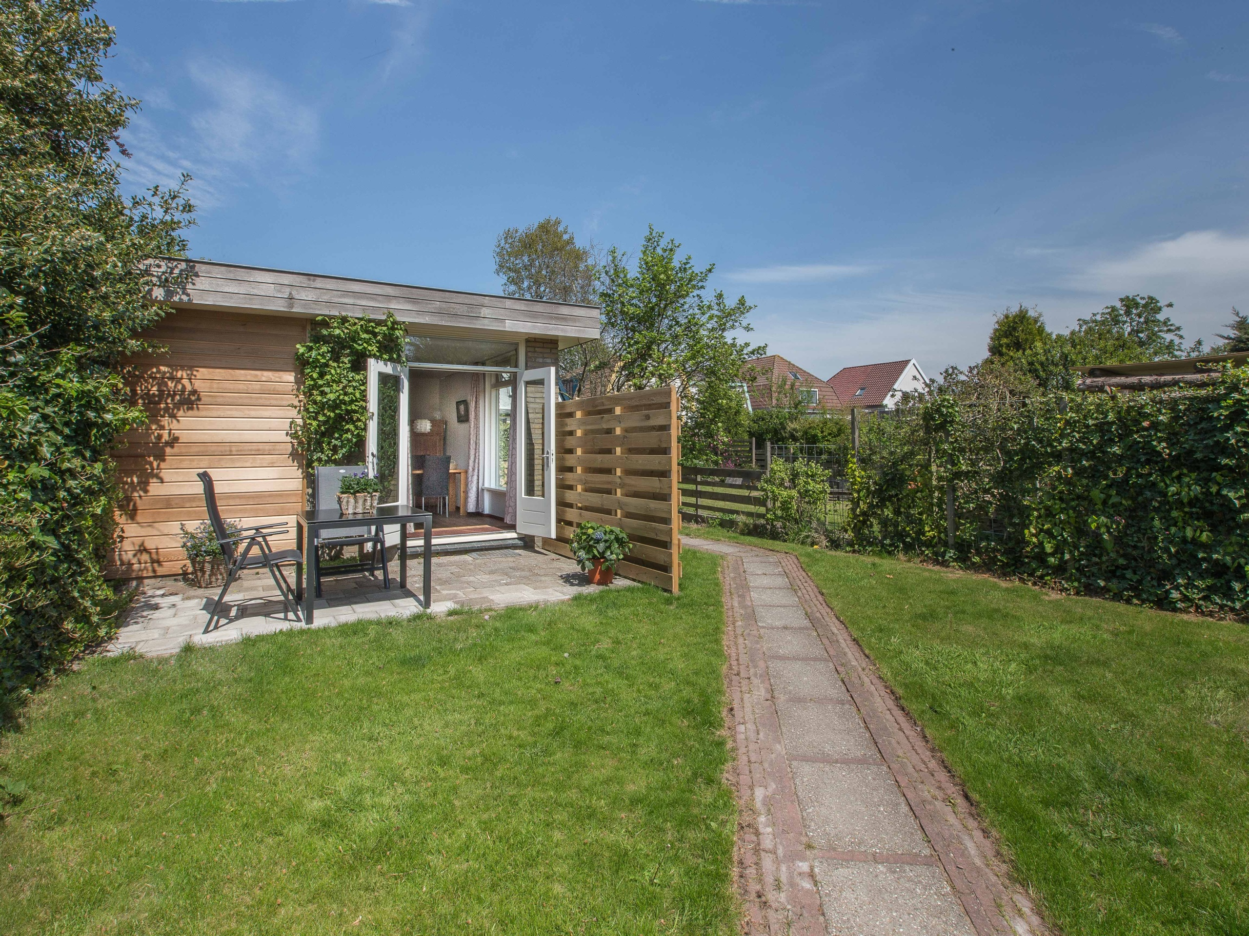 Cozy holiday home within walking distance of the center of Den Burg