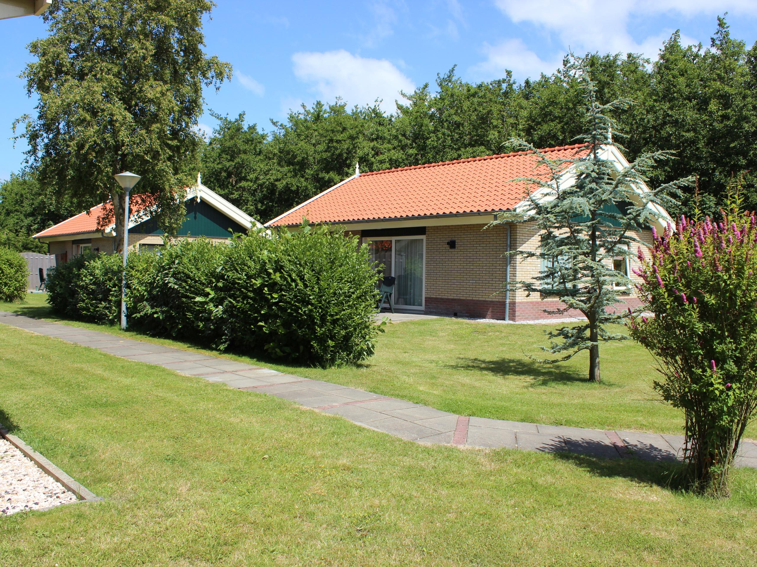 Modern spacious bungalow with gas fire near De Koog