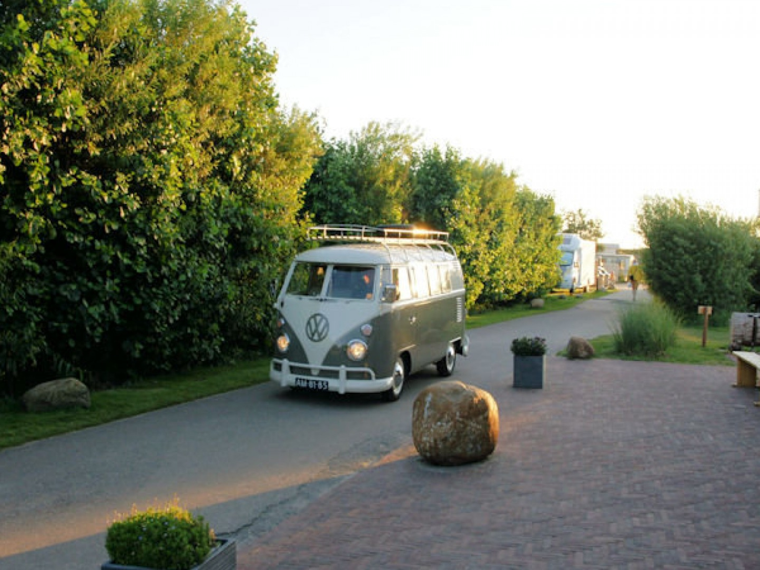 Schöner Camping in den Dünen am Leuchtturm und De Cocksdorp