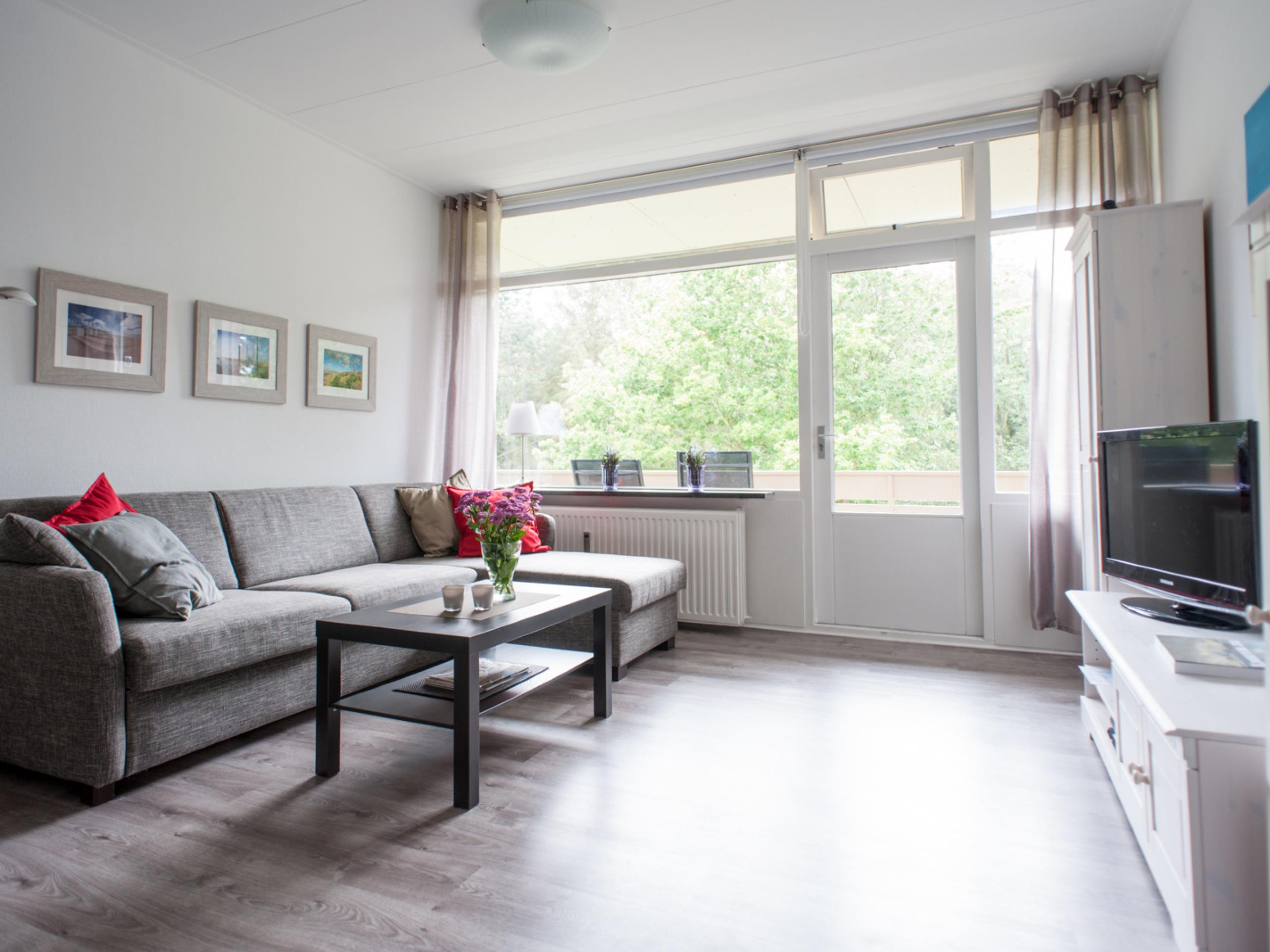Modern bright apartment with views near De Koog