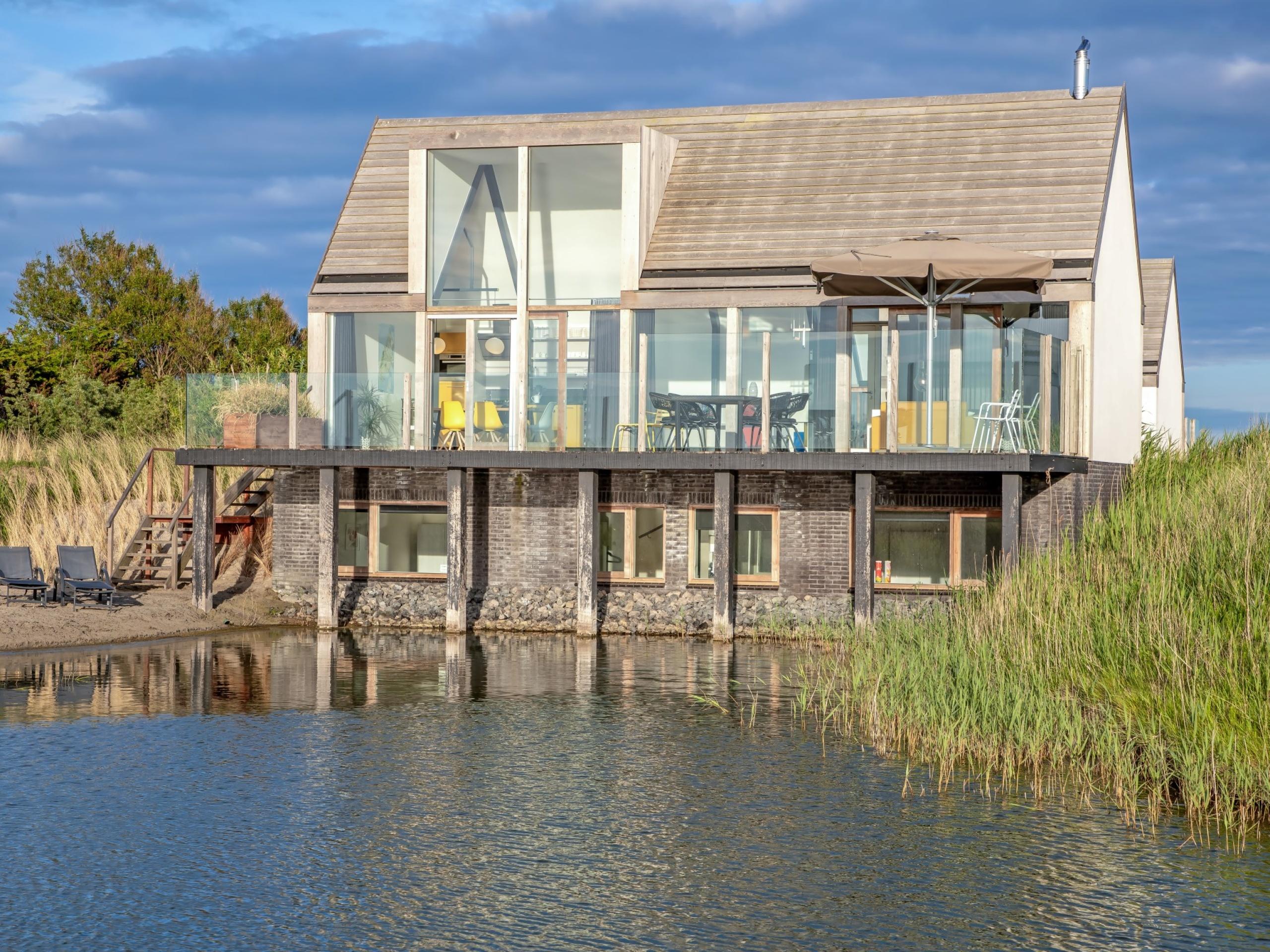 Einzigartiges Ferienhaus im Polder