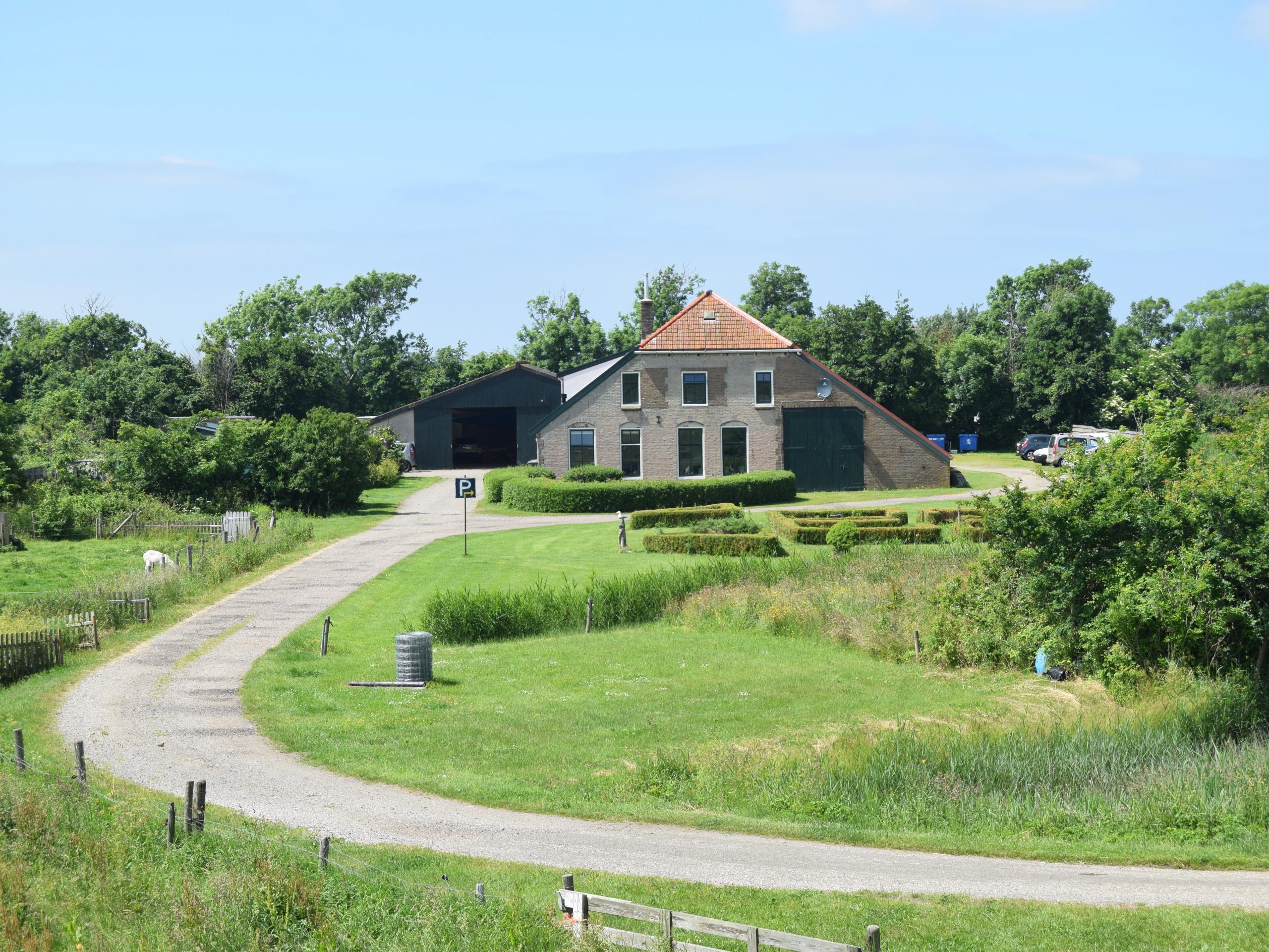 Rural campsite near Waddenzee and Oudeschild