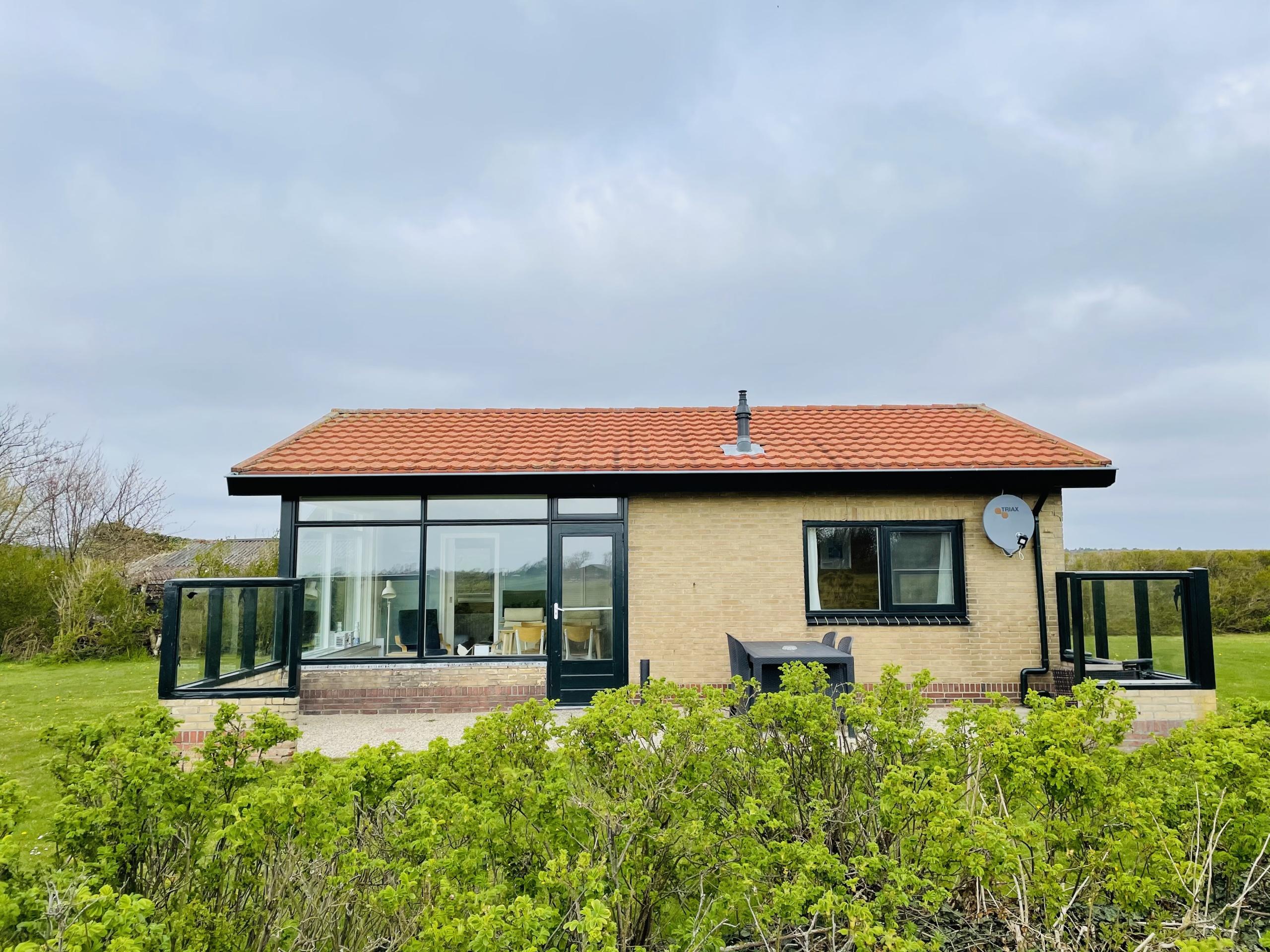 Vakantiehuis met panoramisch uitzicht net buiten Den Hoorn