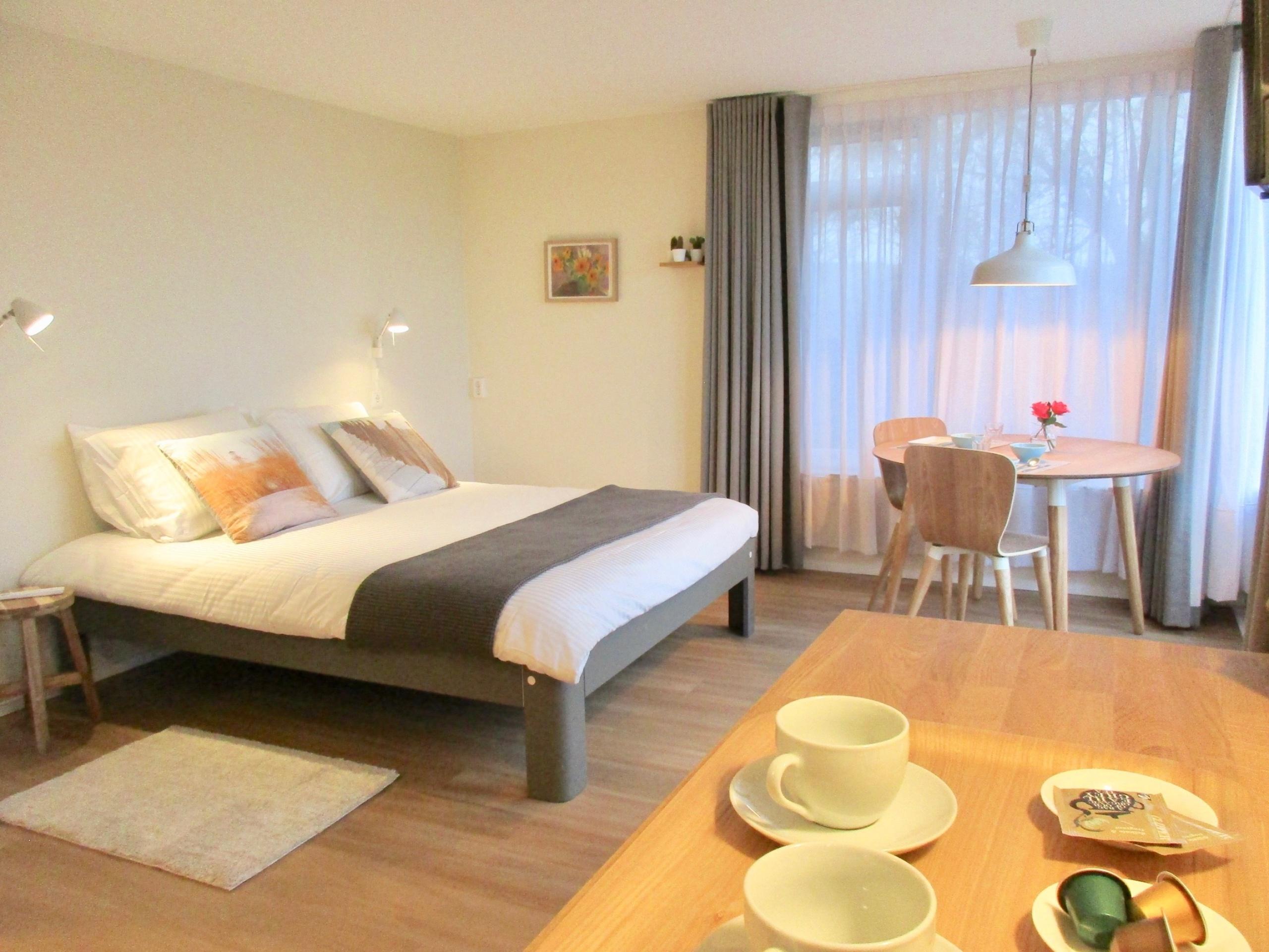 Genießen Sie den Panoramablick in diesem Bed & Kaffee in Oudeschild