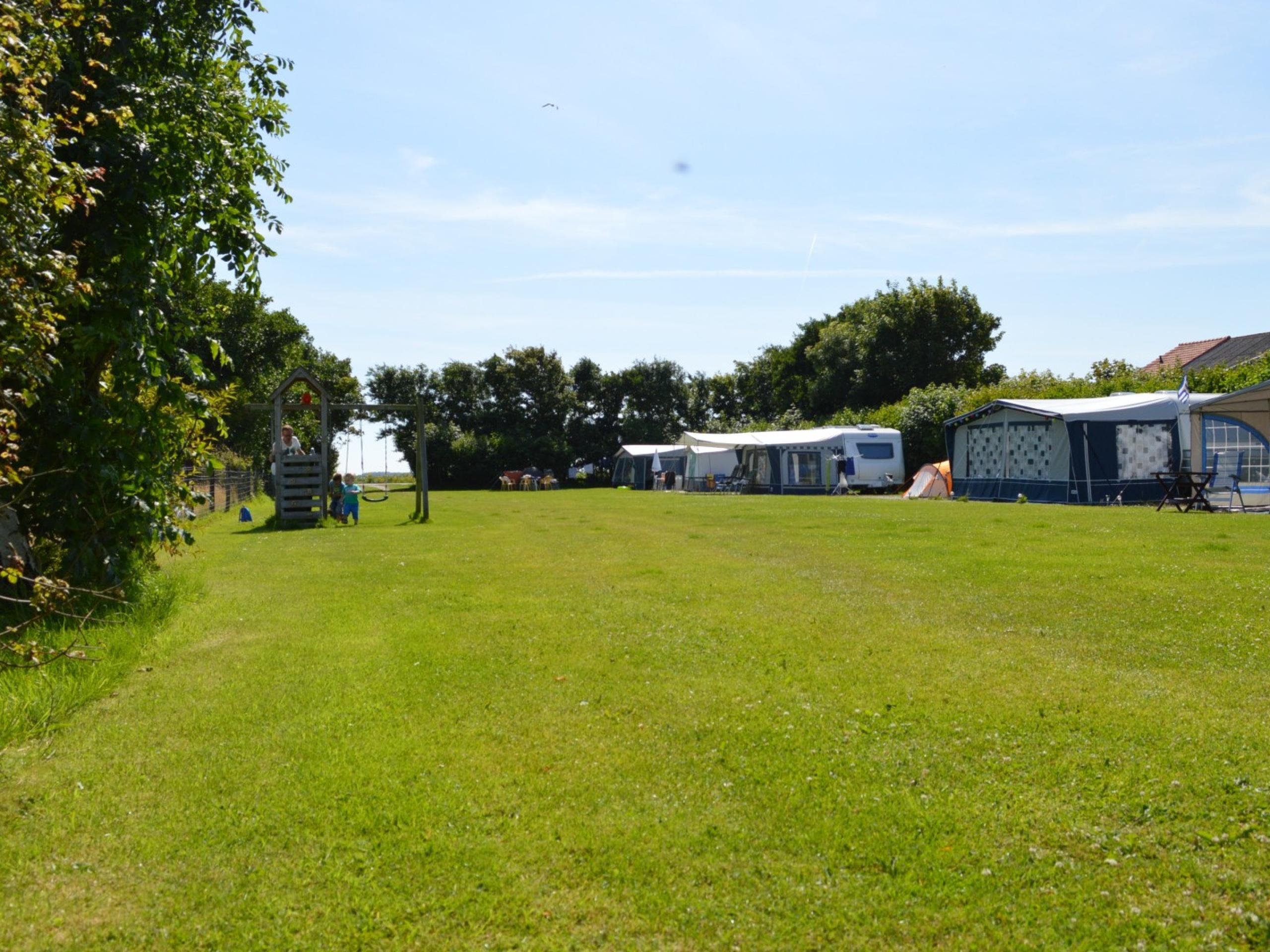 Landelijk kamperen op ideale plek bij De Slufter en De Cocksdorp