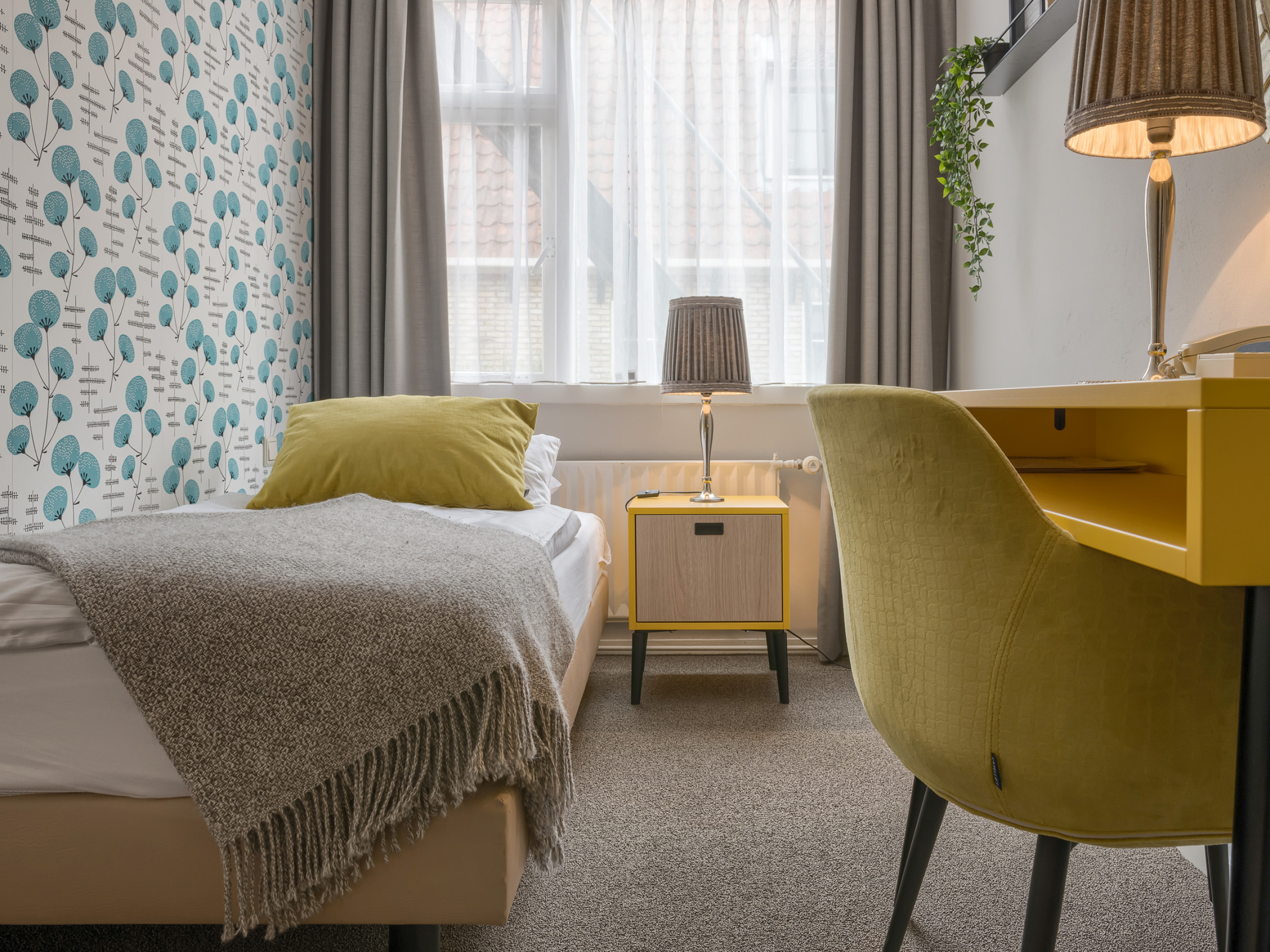 An attractive hotel in Den Hoorn where you can enjoy the island