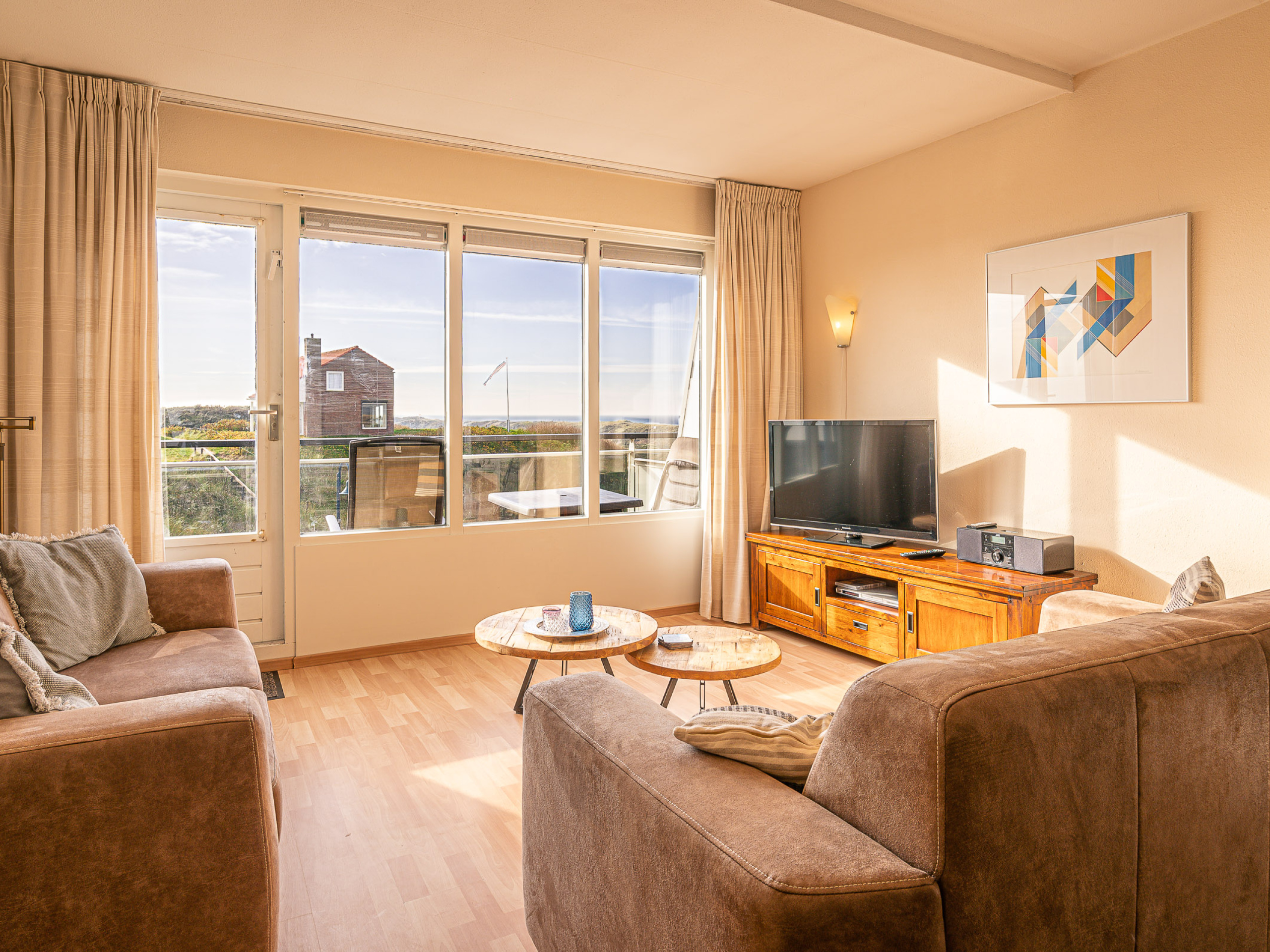 Apartment near De Koog in central location/right by the North Sea