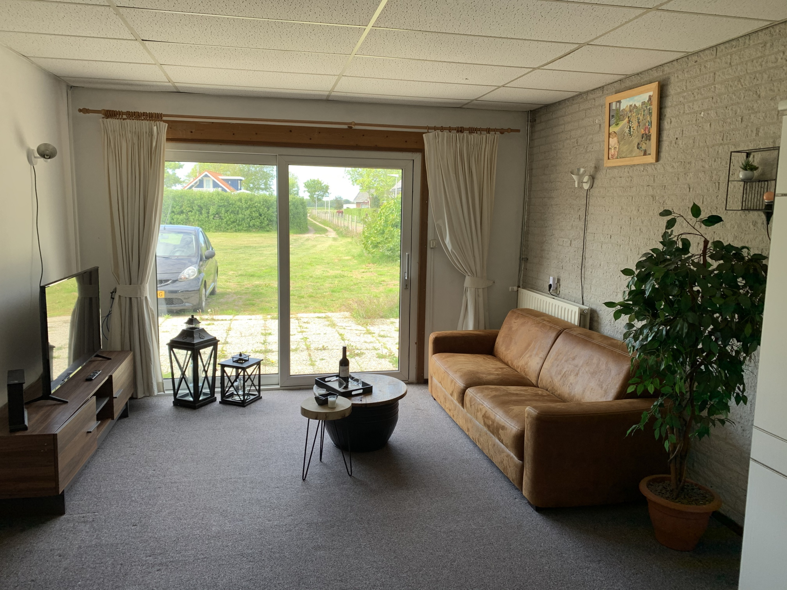 B&B room on the ground floor in the center of De Cocksdorp