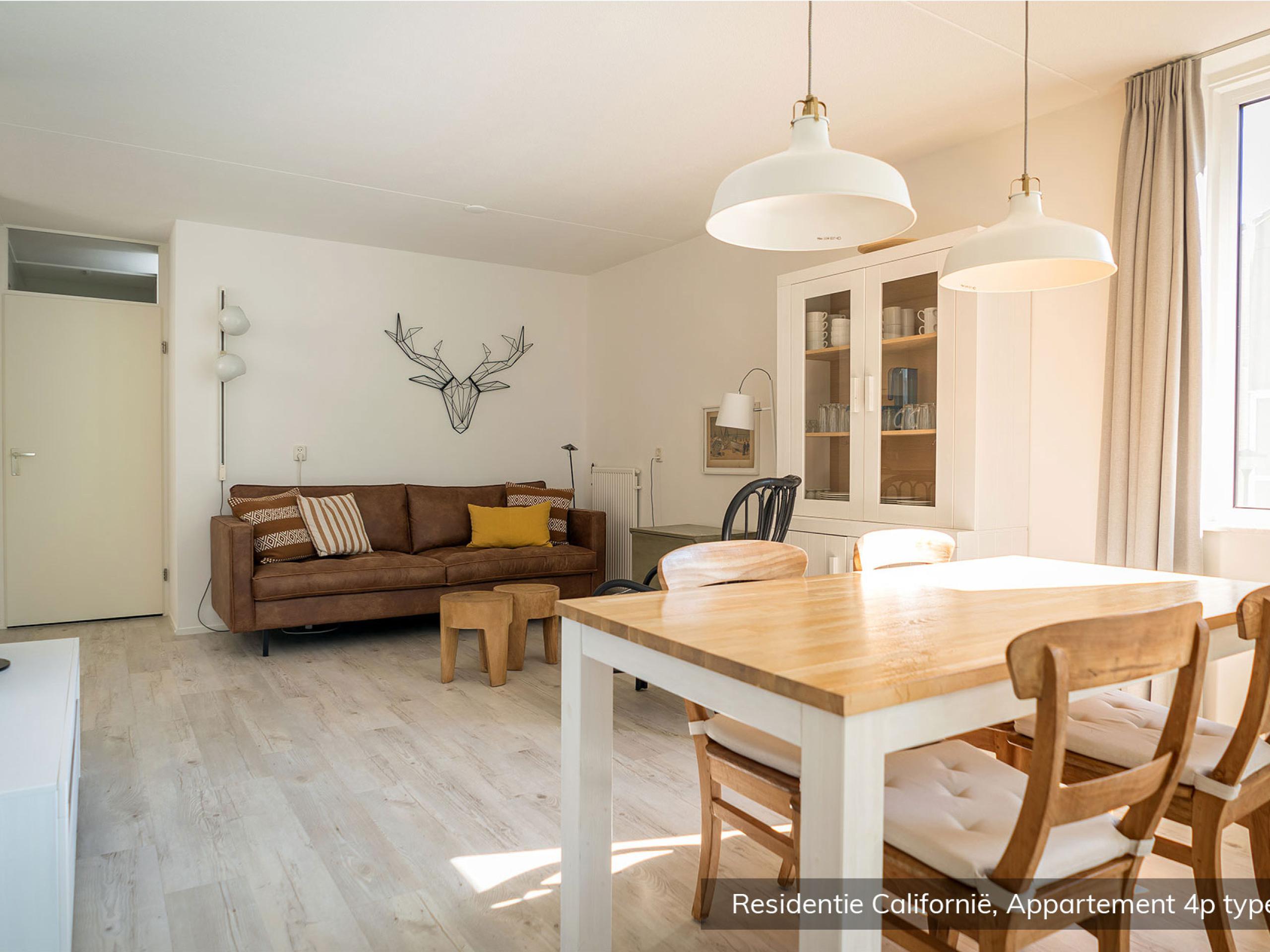 Appartement in complex dat grenst aan het Nationaal Park Duinen van Texel en badplaats De Koog