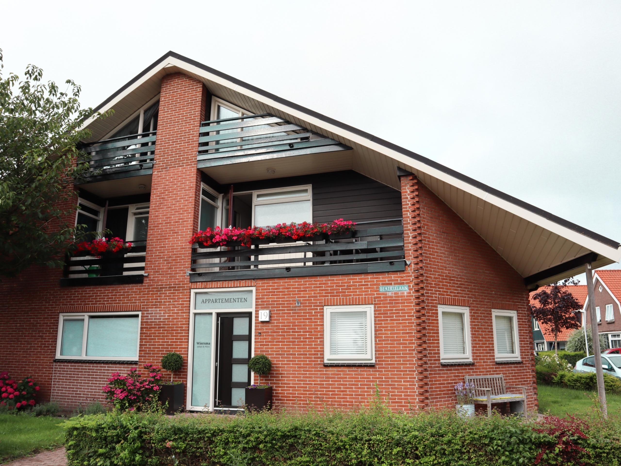 Appartement op loopafstand van het gezellige centrum van Den Burg