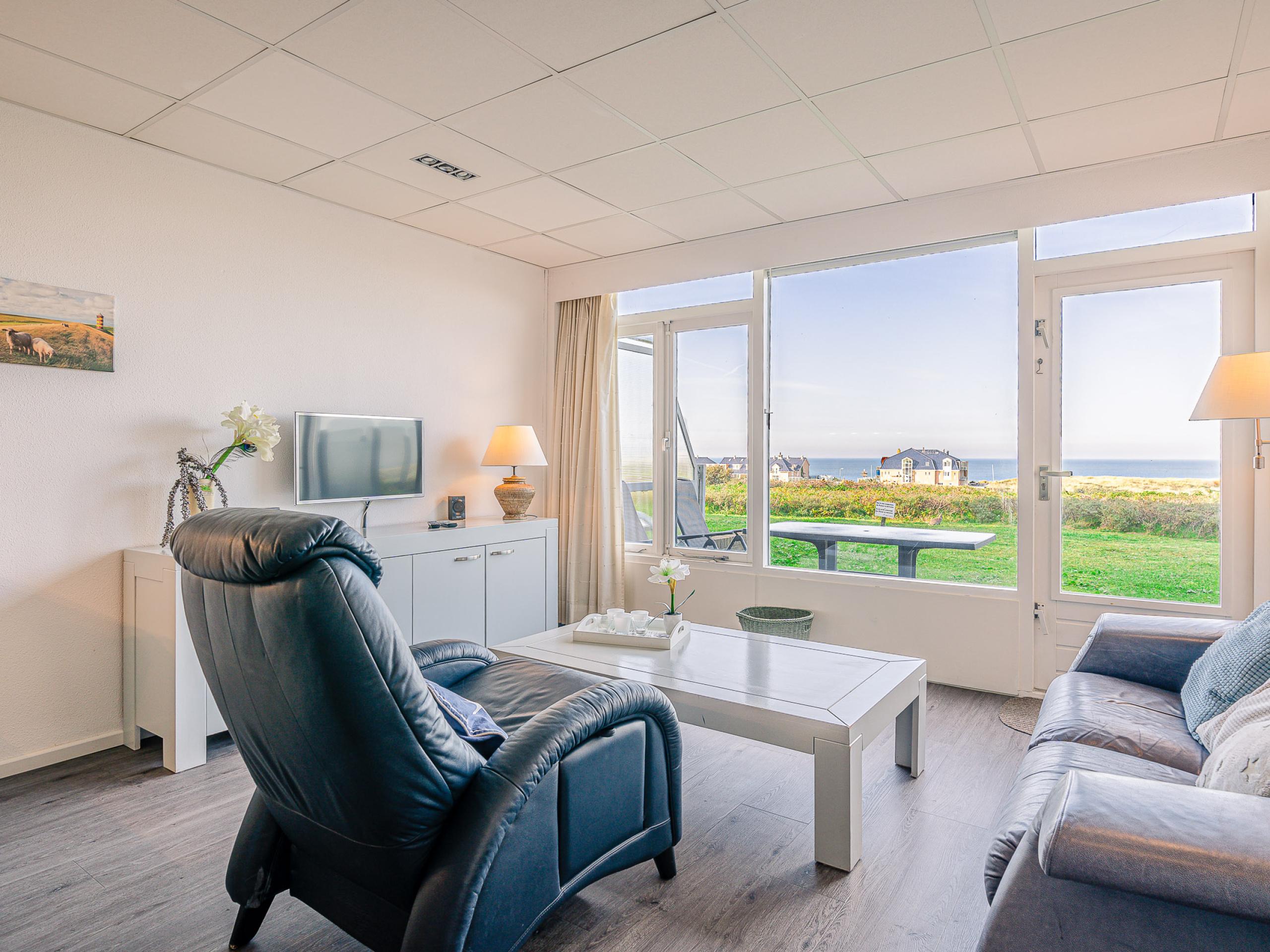 Aangenaam appartement nabij De Koog met uitzicht over Noordzee