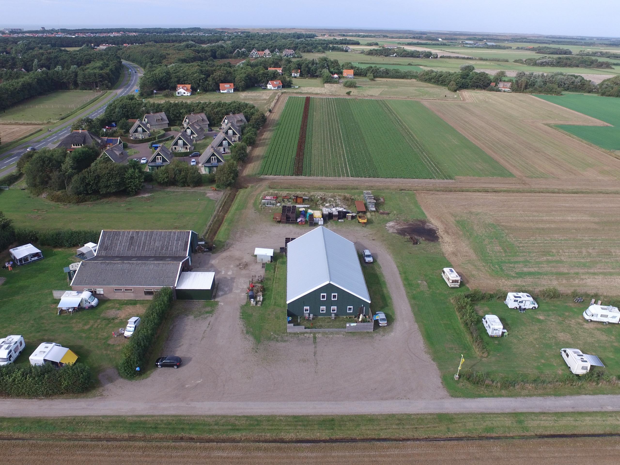Onthaasten op gemoedelijke boerencamping ideaal gelegen vlakbij De Koog
