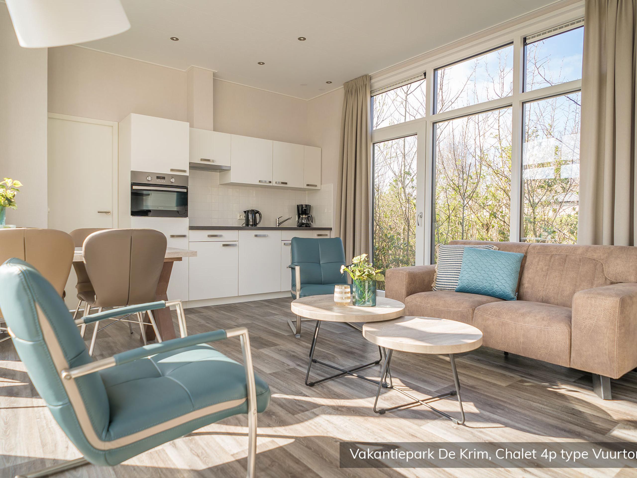 Modernes Luxusmobilheim auf meeresnahem Park bei De Cocksdorp