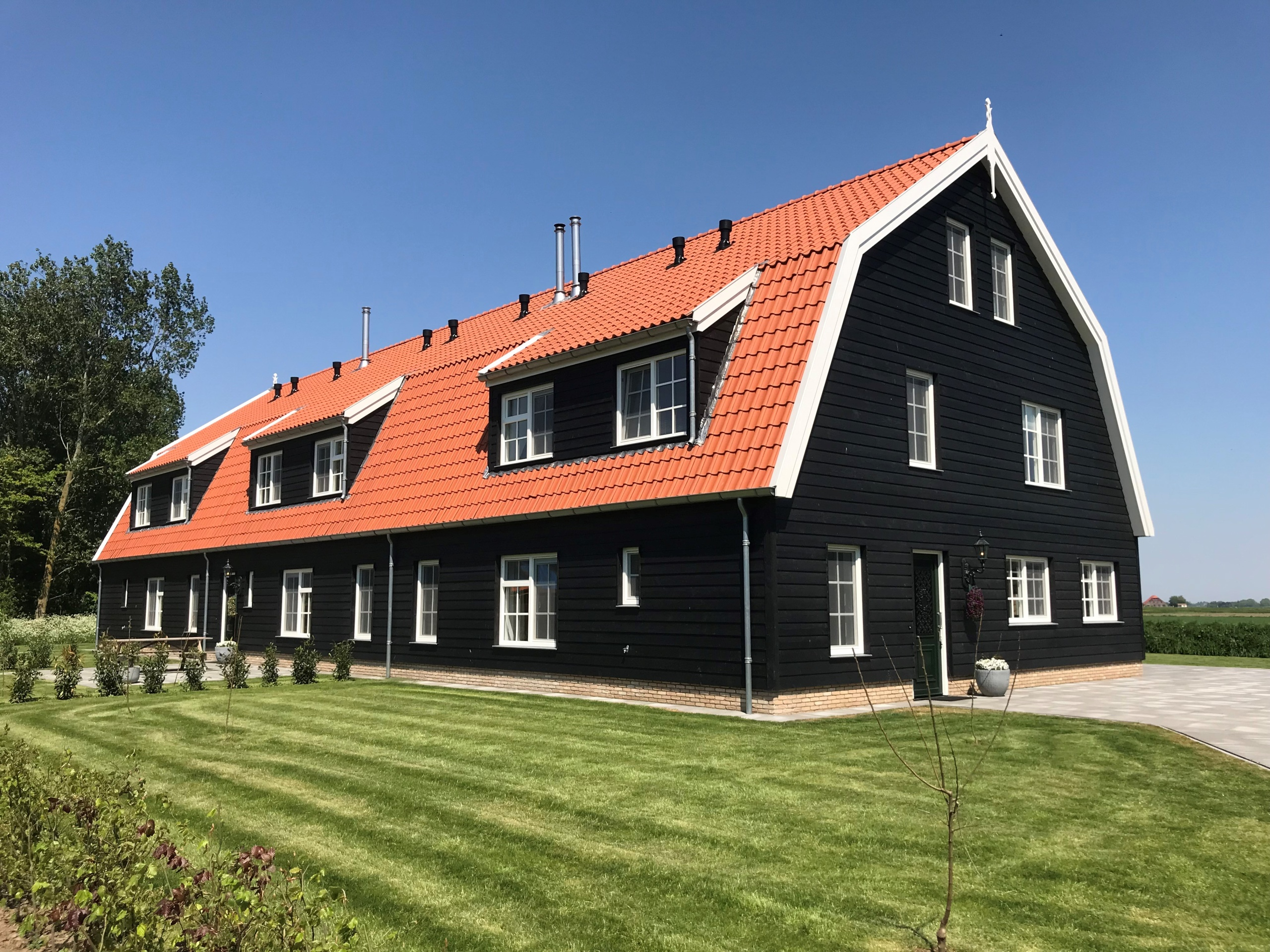 Modern group accommodation in beautiful rural location nearby Den Burg