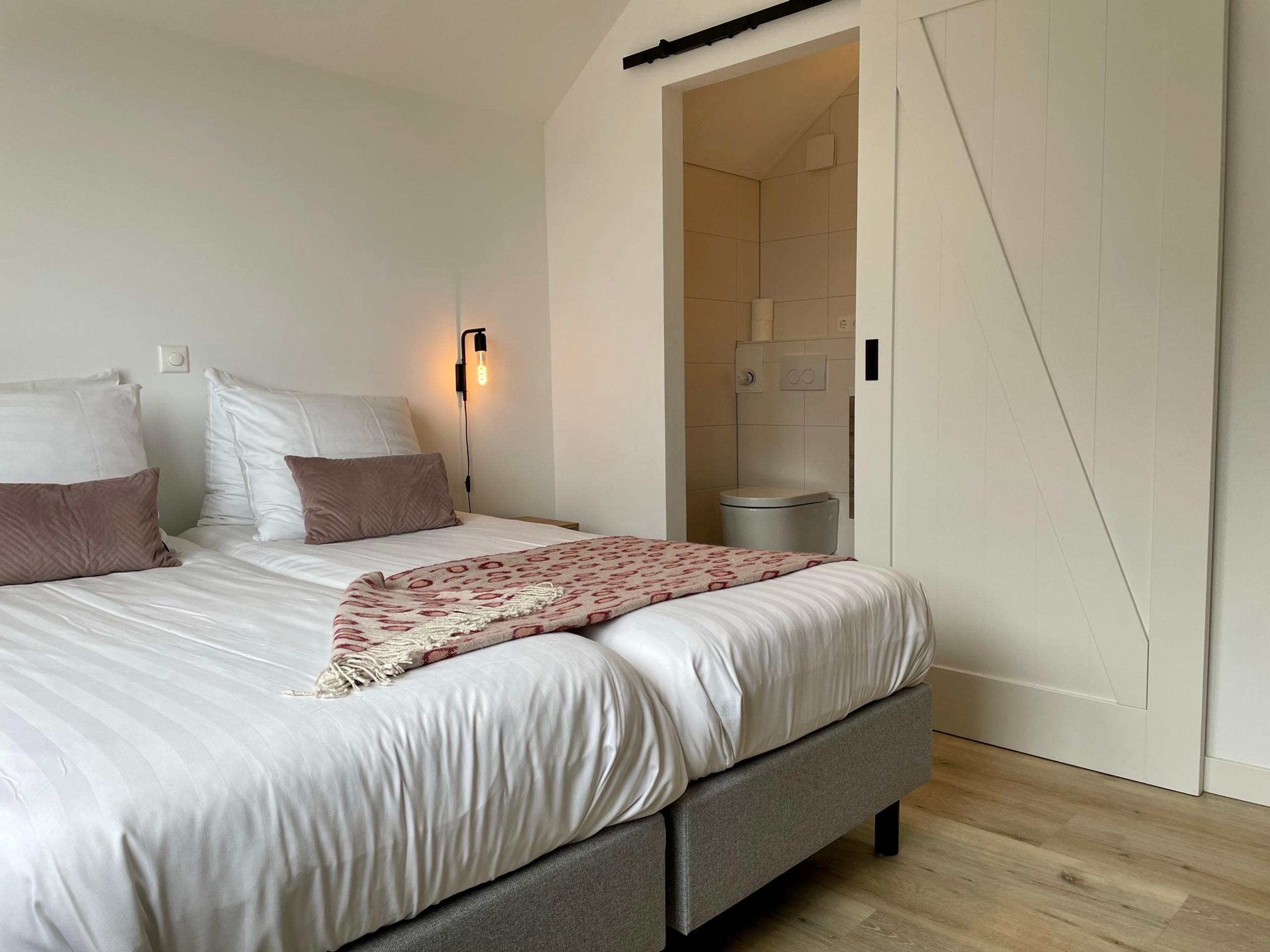Sfeervolle kamer op loopafstand van het Noordzeestrand in De Koog