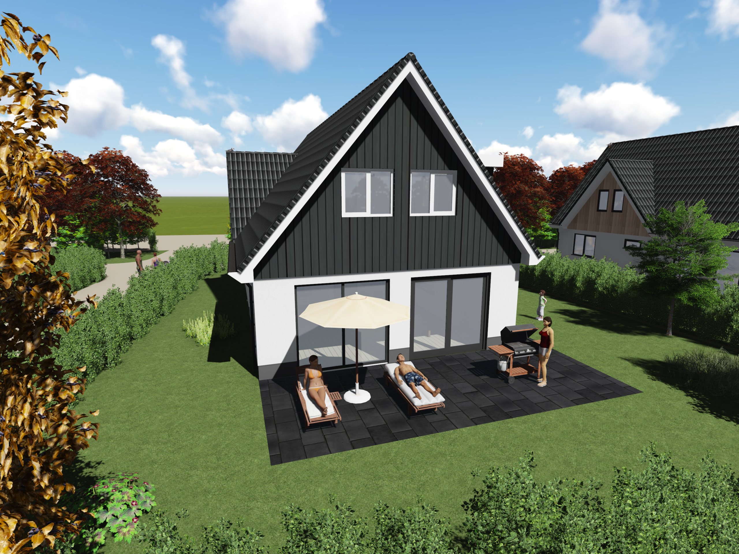 Holiday home near nature reserves, the North Sea and De Koog