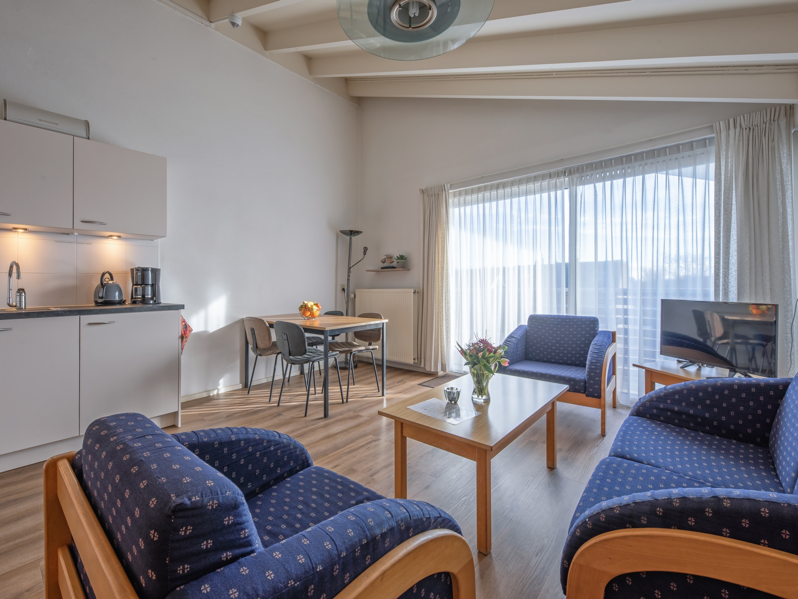 Comfortable apartment in a perfect location near the beach in De Koog