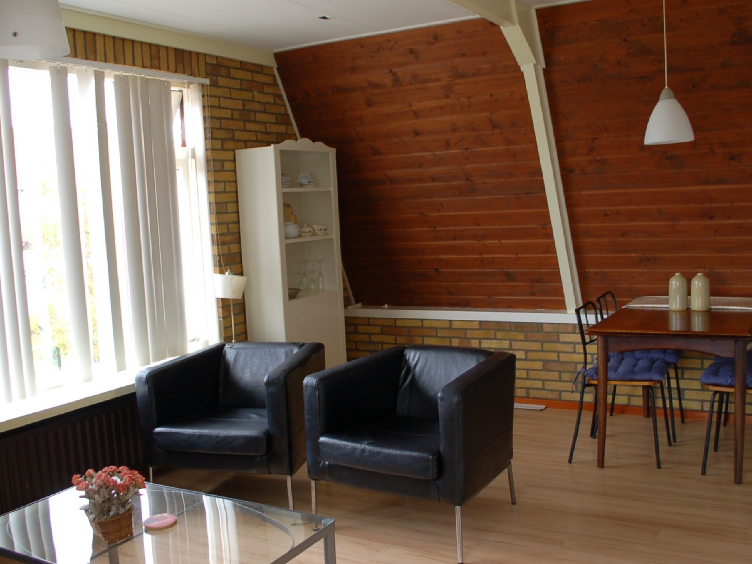 Apartment with roof terrace and nice view of the Roggesloot in De Cocksdorp
