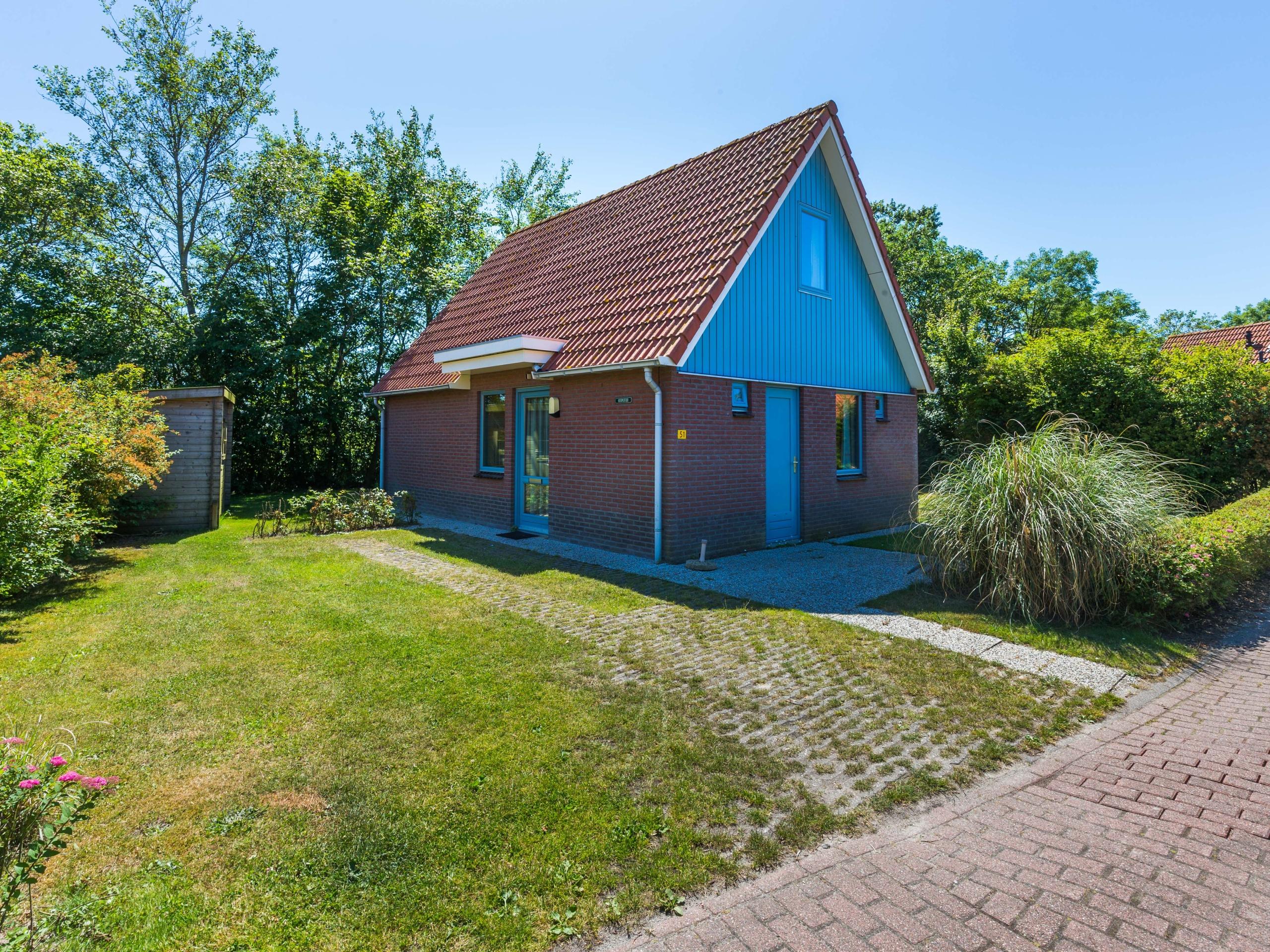 Vrijstaande vakantiehuis op bungalowpark aan de Waddenzee