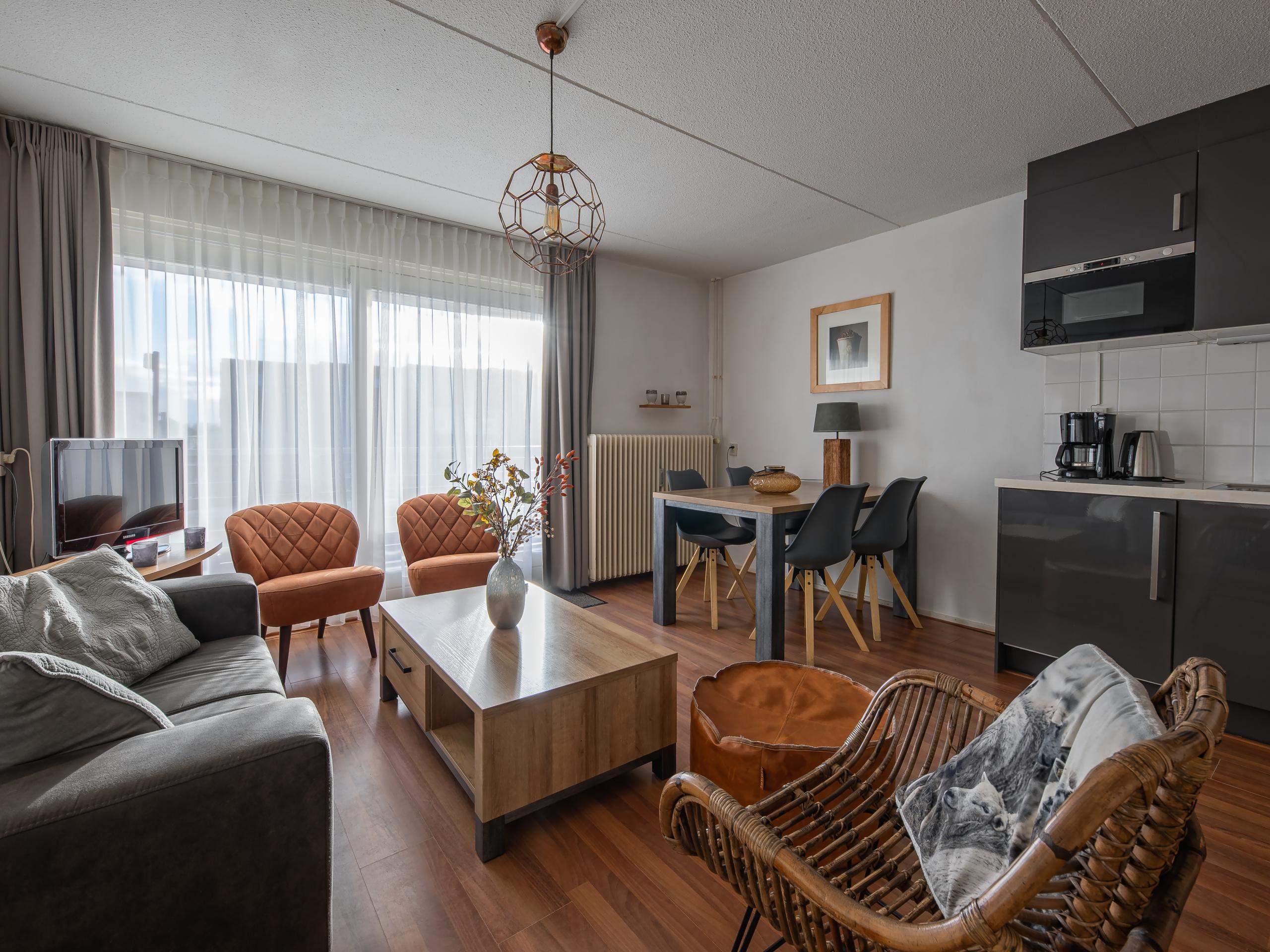 Comfortabel appartement op vlakbij het centrum en het strand in De Koog