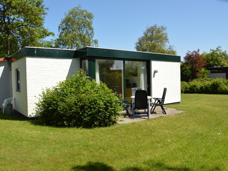 Detached bungalow located in the greenery on the edge of the forest